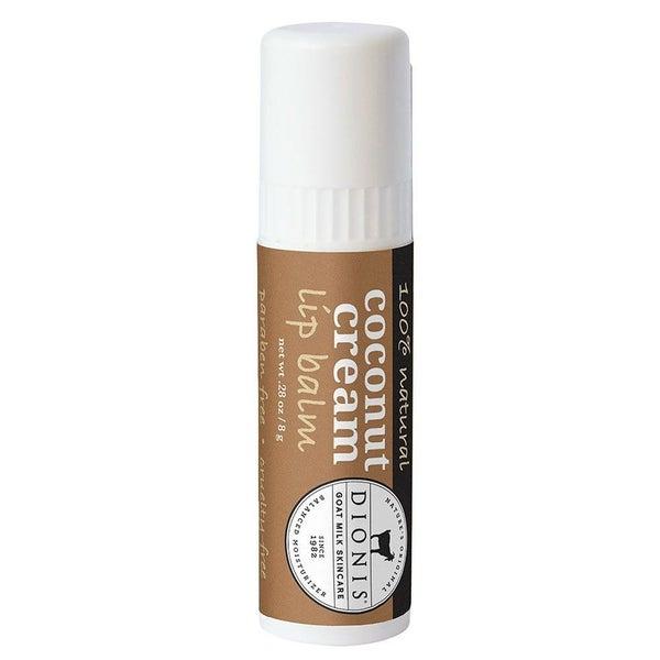 Coconut Cream Goat Milk Lip Balm **USA MADE & TWICE THE SIZE**