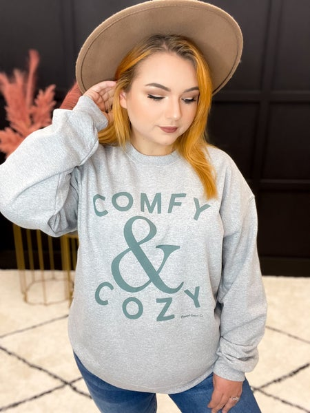 Comfy and Cozy Sweatshirt (S-3XL)