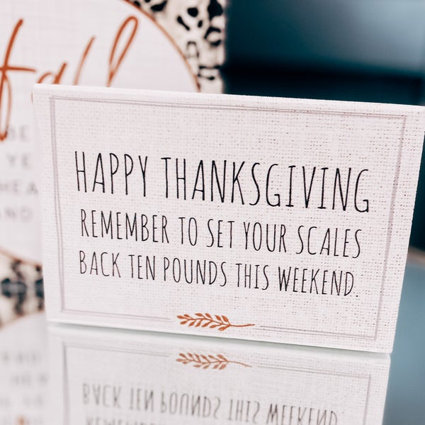 Happy Thanksgiving Sill Sitter