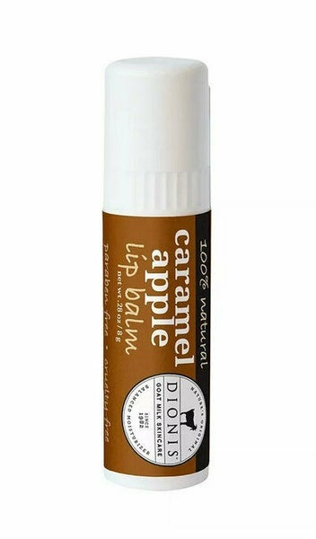 Caramel Apple Goat Milk Lip Balm **USA MADE & TWICE THE SIZE**