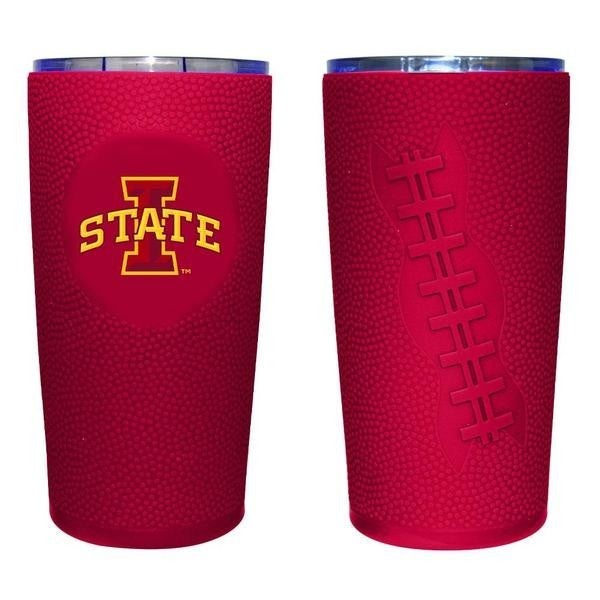 20 oz.  Tumbler with Football Wrap- Multiple Colors