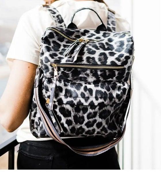 Leopard Brielle Convertible Bag Multiple Colors