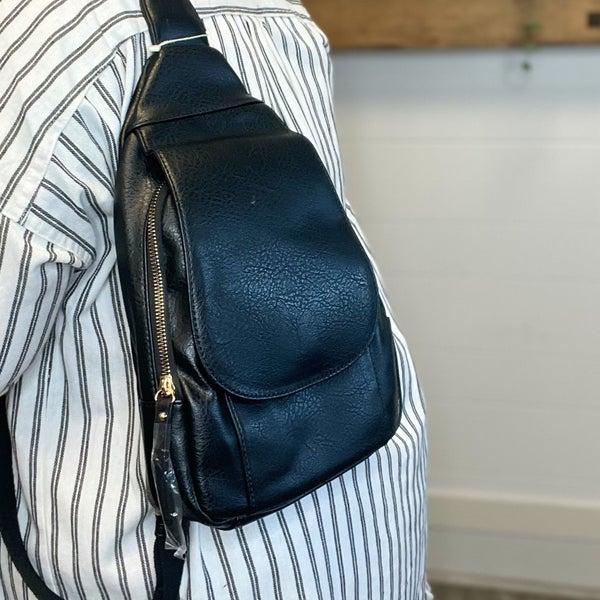 Fashion Flap Sling Backpack Multiple Colors