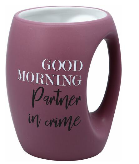 16oz. Hand Hug Matte Mug Multiple Sayings Available