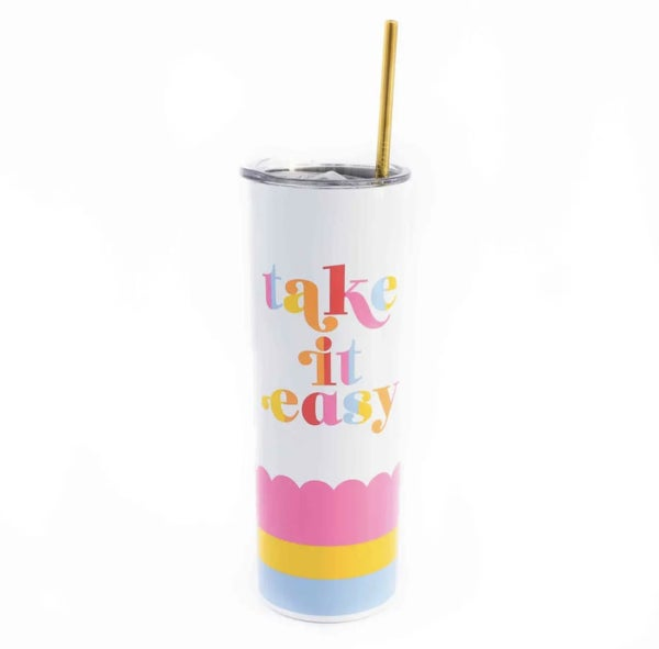 Take it Easy Stainless Steel Sipper