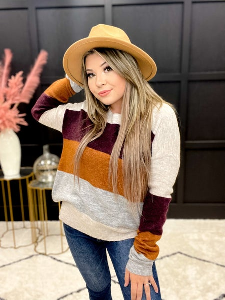 Shades of Color Wool Sweater Multiple Colors (S-3XL)
