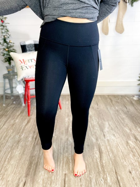 Tapered Band High Waist Leggings (Size S-3XL)