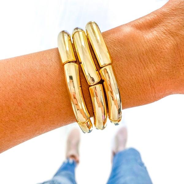 Trending Tube Bamboo Bracelet