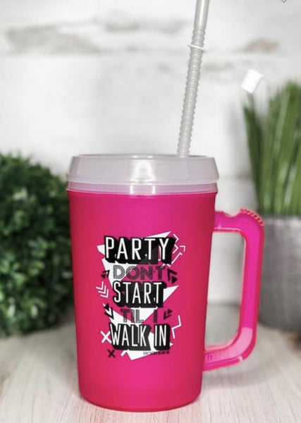 Party Don't Start Tumbler