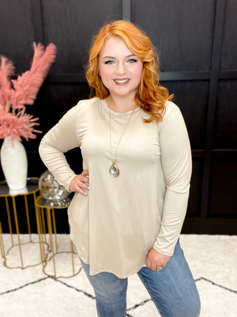 Basic Butter Soft Long Sleeve Multiple Colors (Sizes S-3XL)