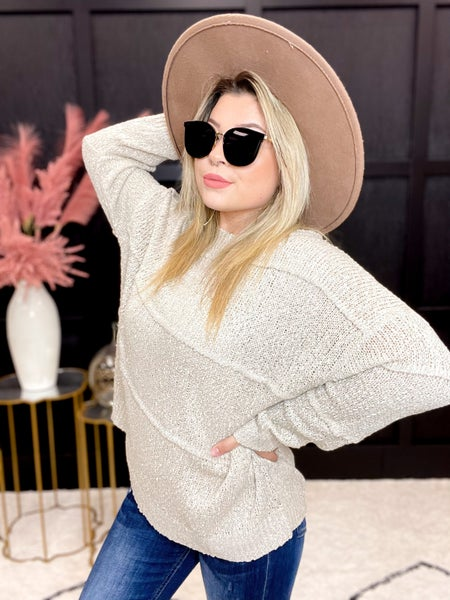 Patched Detailed Sweater -Multiple Colors (S-3XL)