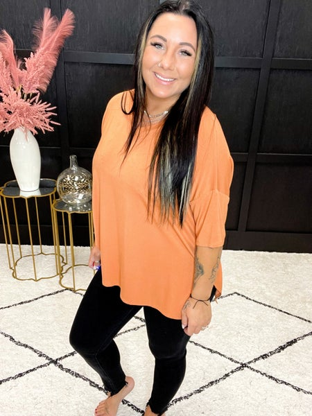Luxe Half Sleeve Dolman Multiple Colors (Sizes S-3XL)