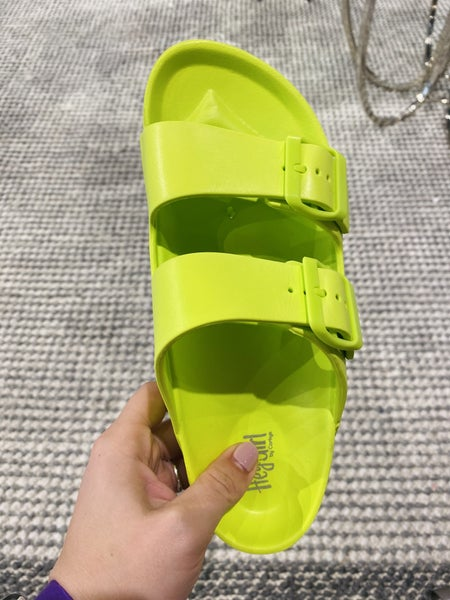 Corky Waterslide Lime Green Sandal