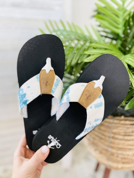 Corky Bahama Mama Flip Flop- Aqua