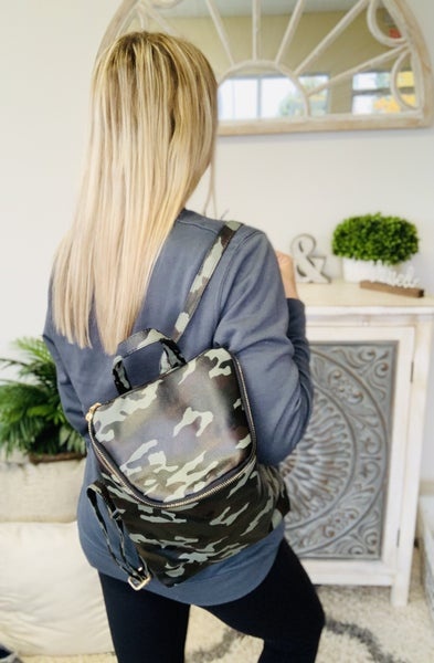 Camo Babe Backpack