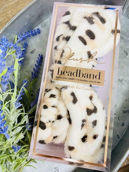 Cheetah Plush Headband