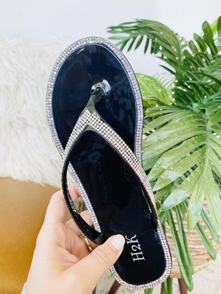 Jealous Black Sandals
