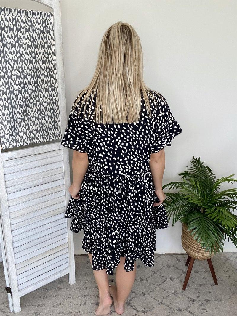 Ruffle For Days Dress