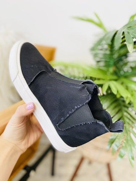 Very G Frankie Black High Top Sneaker