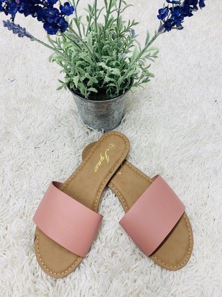 The Comfy Sandal ~ Mauve
