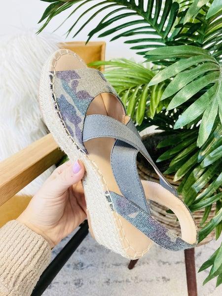 Corky's Kimmie Camo Sandals