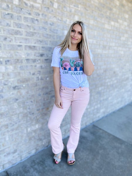 The Brianne Jeans - Pink