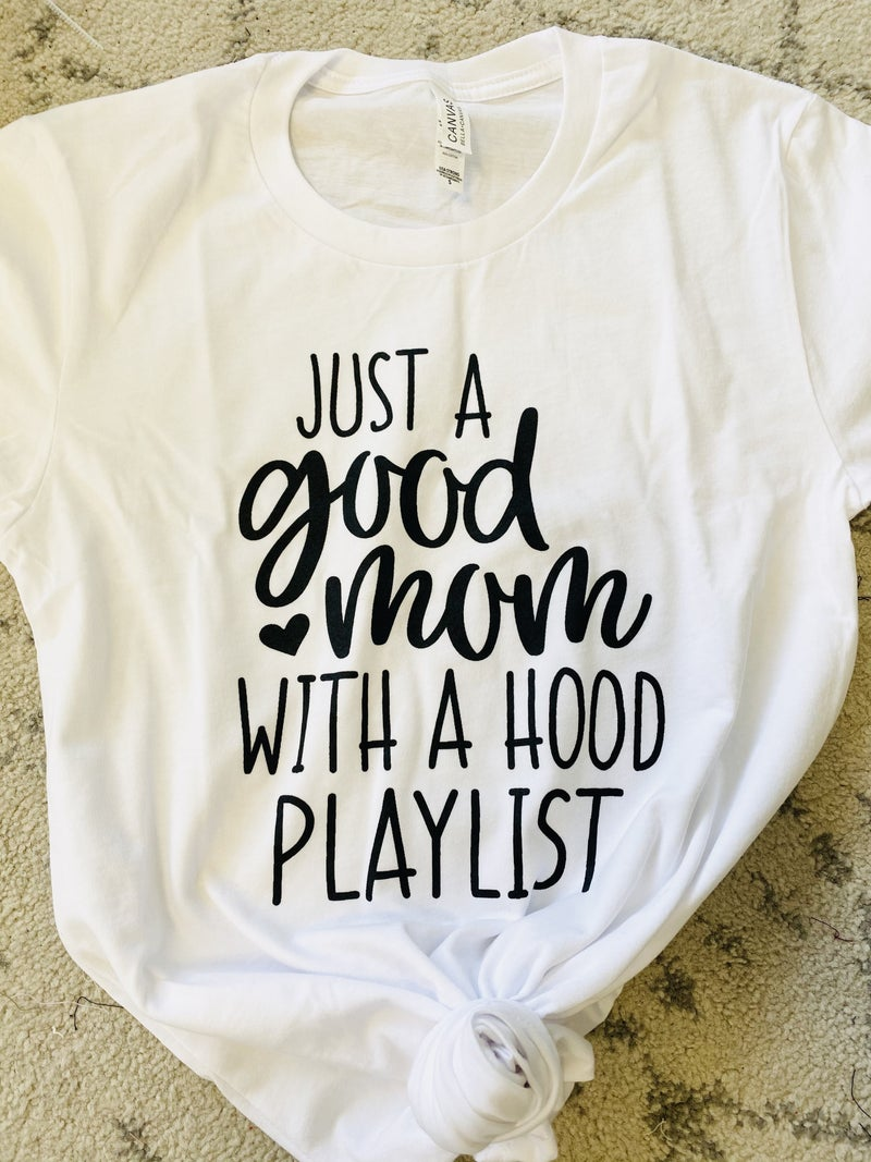 Just a Good Mom Graphic Tee