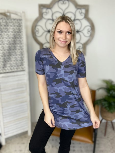 Camo All Day Top