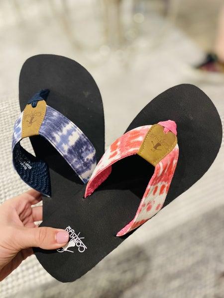 Corky Bahama Mama Flip Flop~ 2 Colors