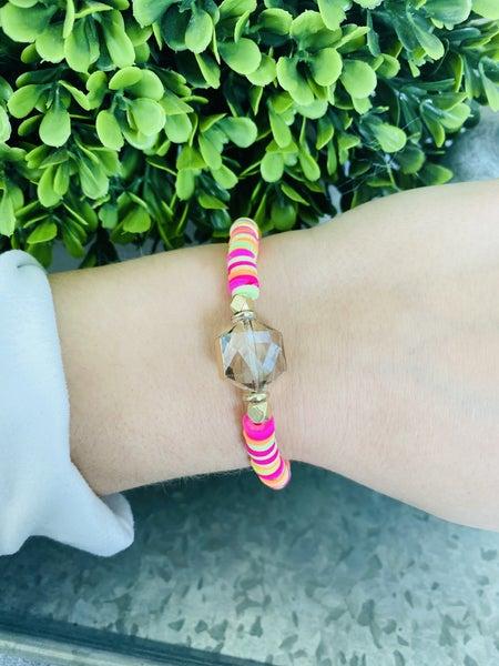 Sunset Heishi Bracelet