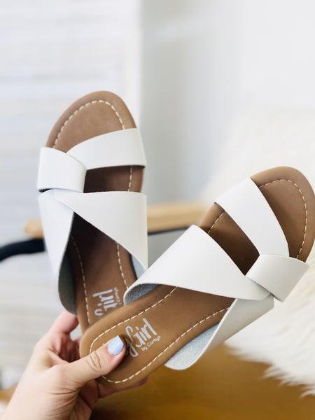 Corky Scuba Sandal- White