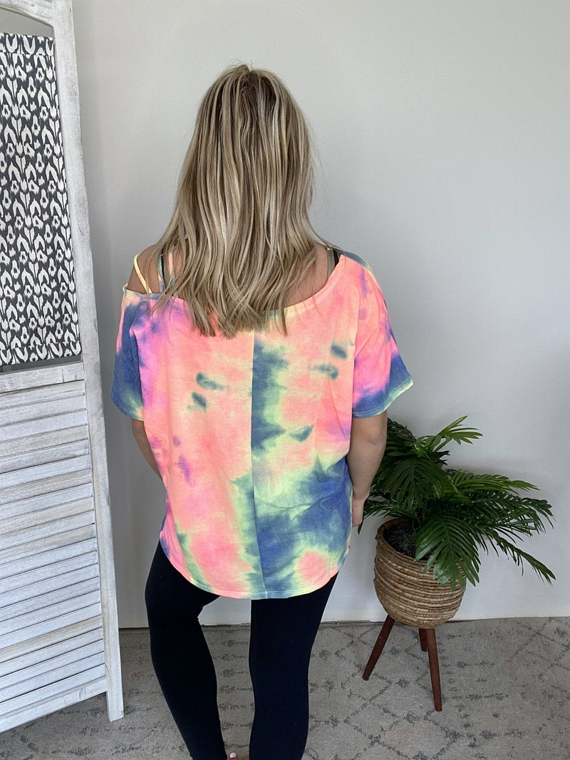 Something Special Top- Charcoal
