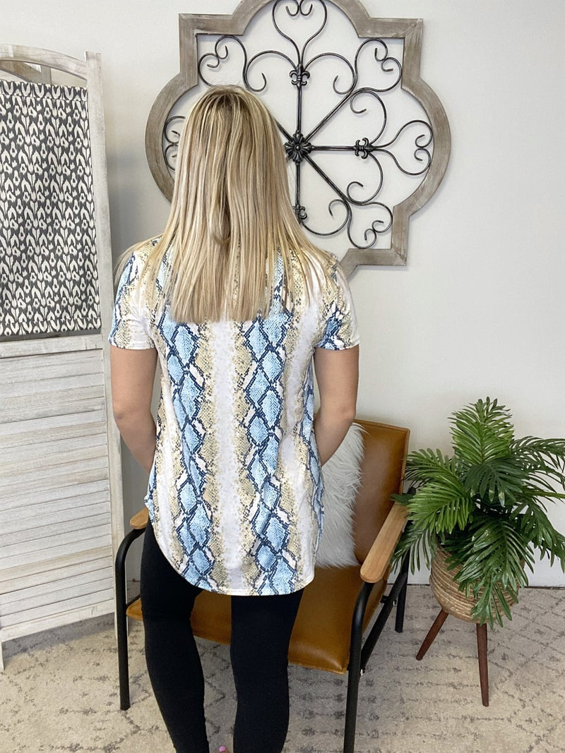 Slithering To Summer Top