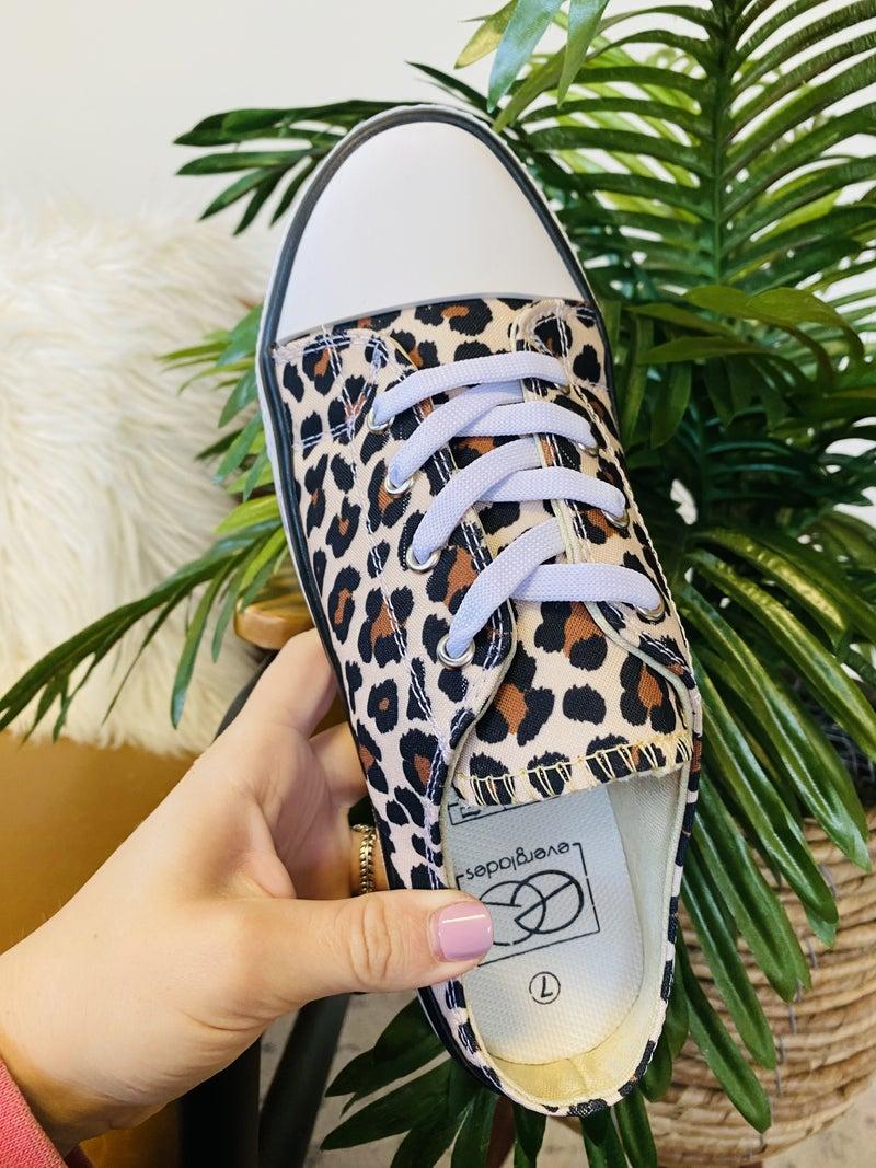 Leopard Please Sneakers