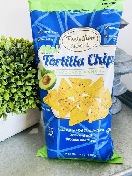 Avocado Ranch Mini Tortilla Chips