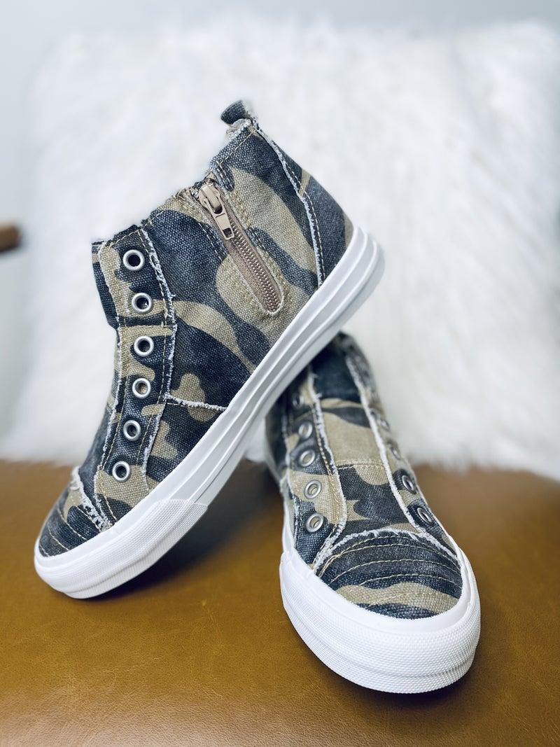 Gypsy Jazz Grayson Camo Shoes