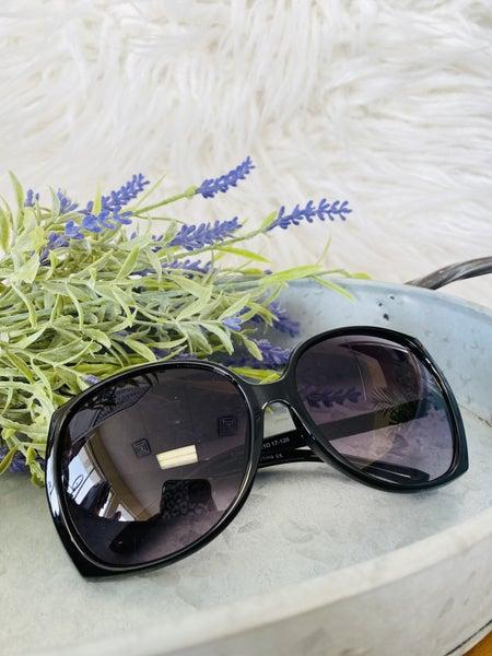 Poolside Sunglasses- Black