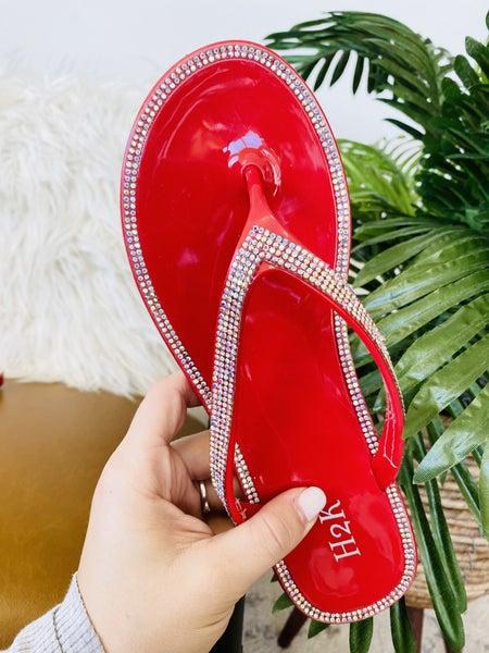 Jealous Red Sandals