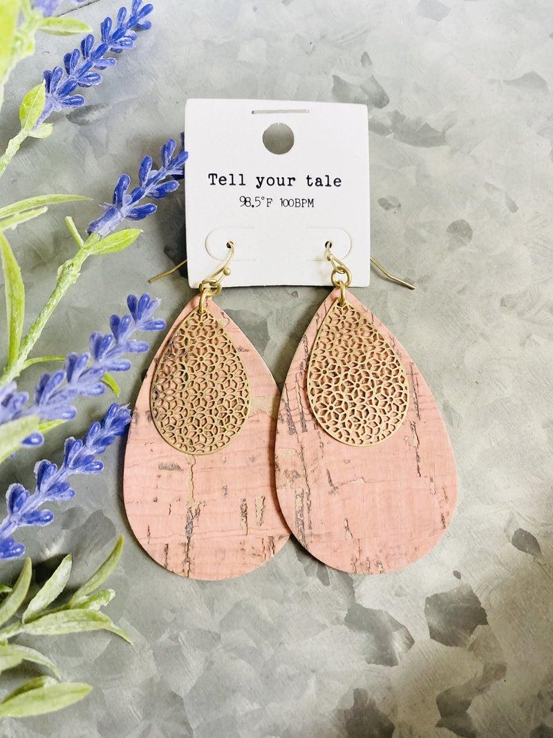 Peachy Days Earrings