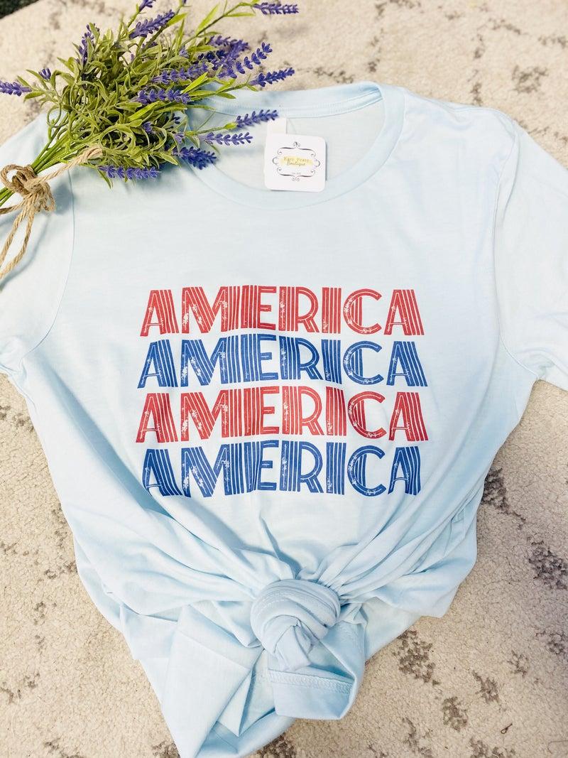 Retro America Graphic Tee