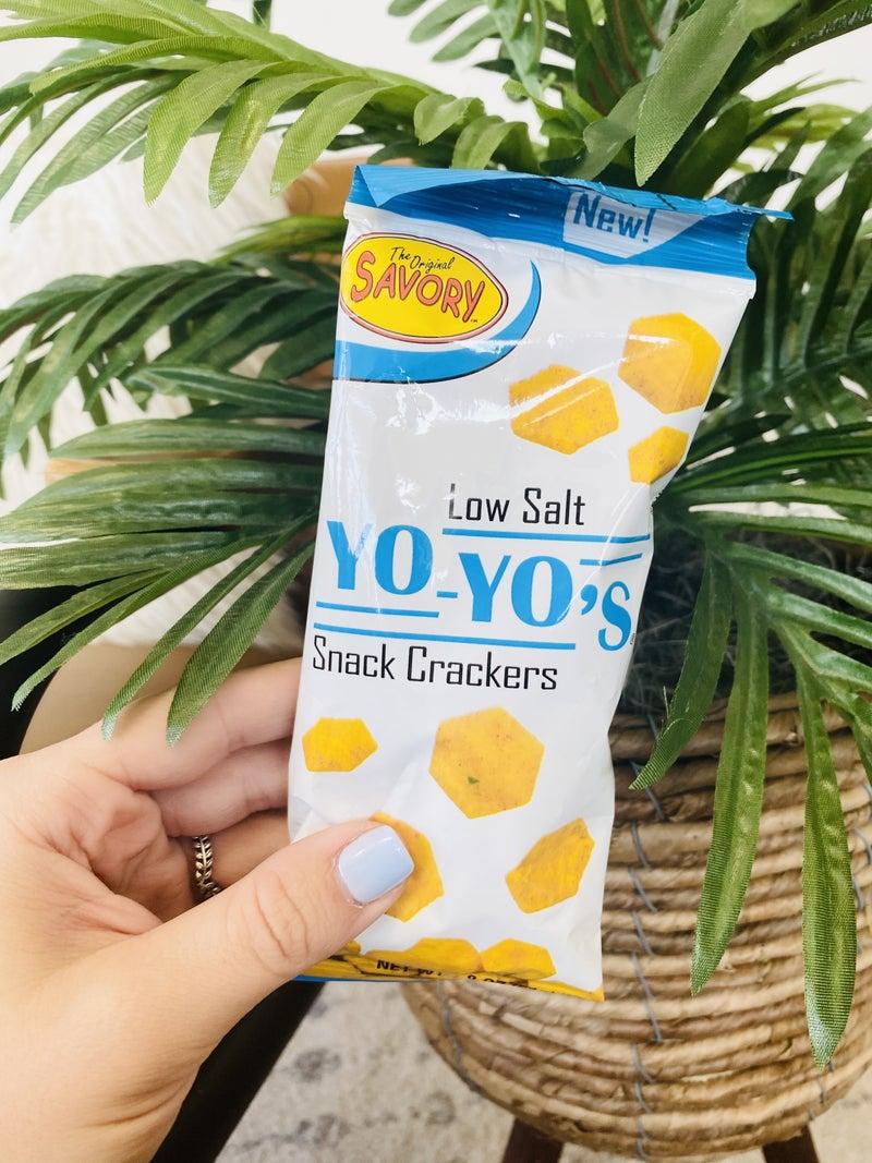 Savory- Yo-Yo's 1.8oz Low Salt