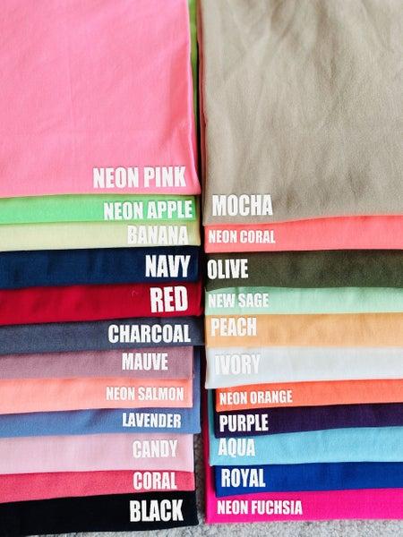 Basic Camisole- 23 Colors