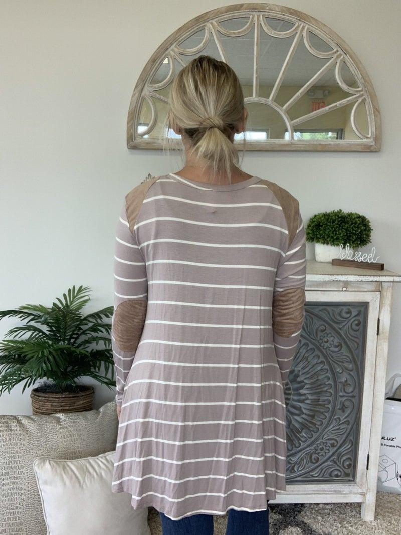 Narrow It Down Taupe Dress