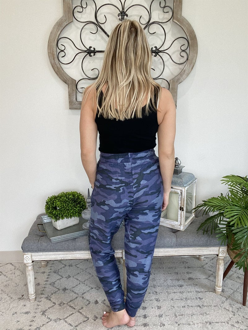 In The Woods Camouflage Joggers~ 2 Colors