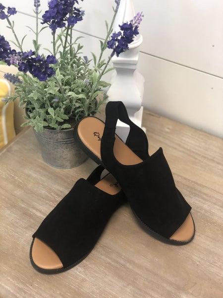 Gotta Have The Black Sandals