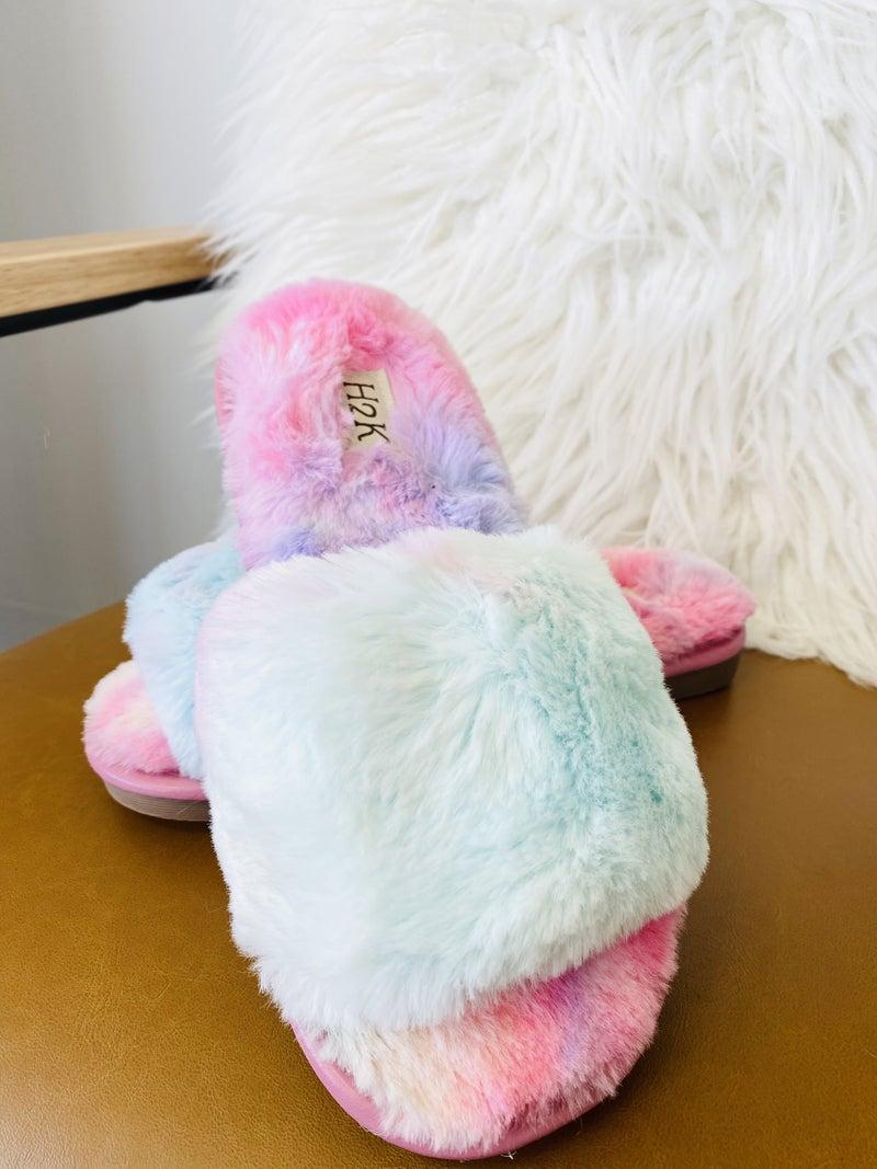 The Jennifer Rainbow Slippers
