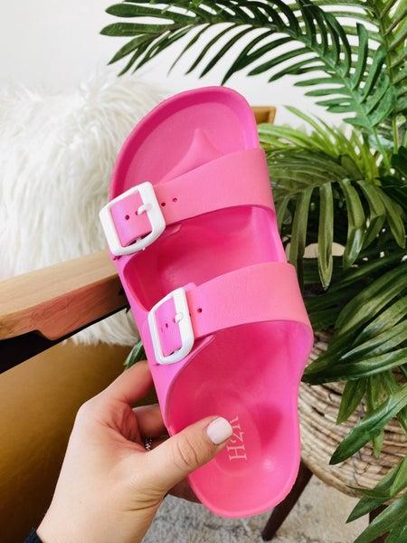 Be A Goddess Pink Sandals
