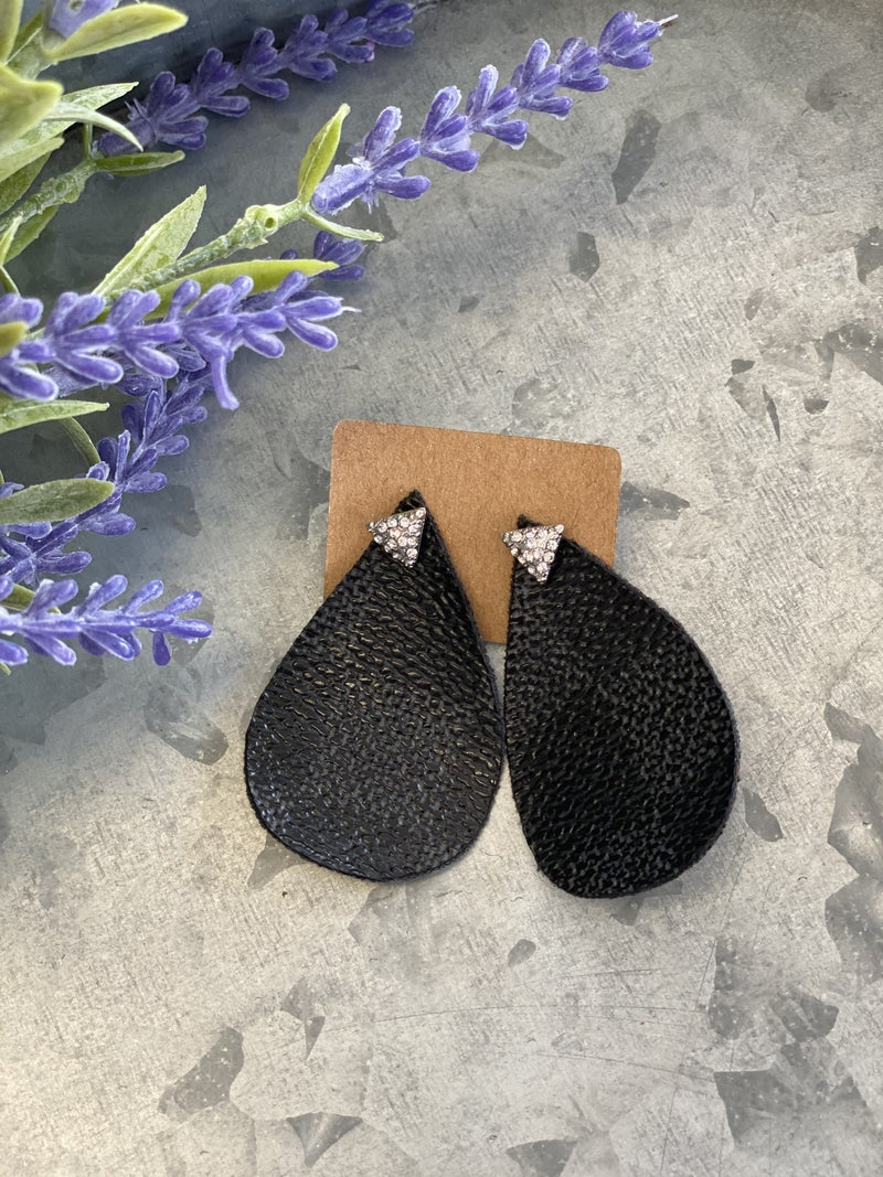 Upcycled LV Gabrielle Earrings