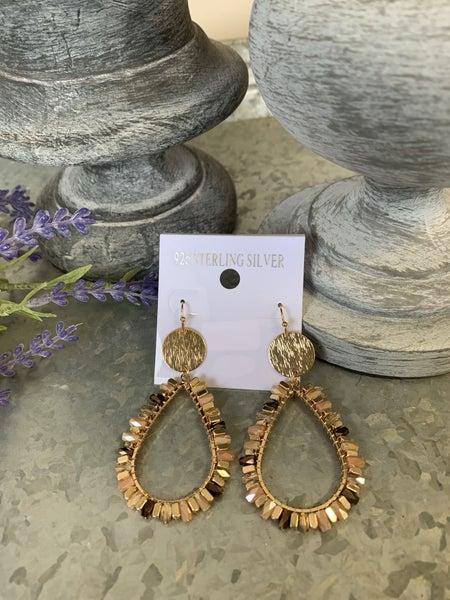 Ava Capri- All Neutral Color Earrings