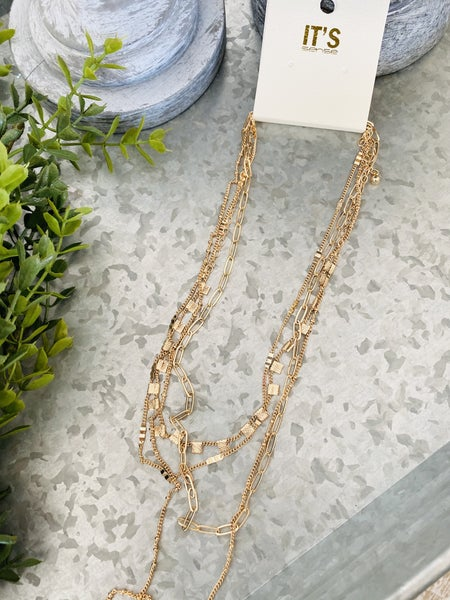 Layer For Days Necklace~ 2 Colors